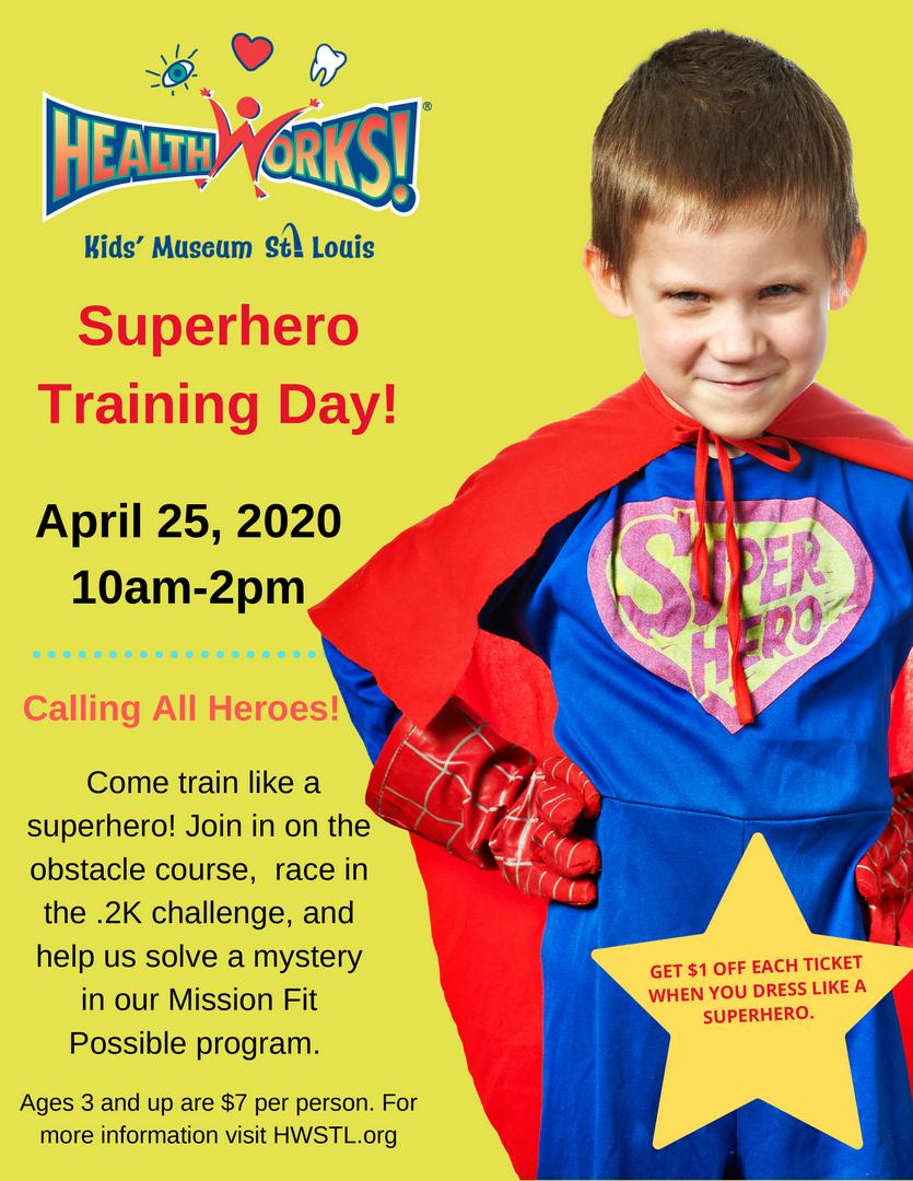 Superhero Training Day and .2K