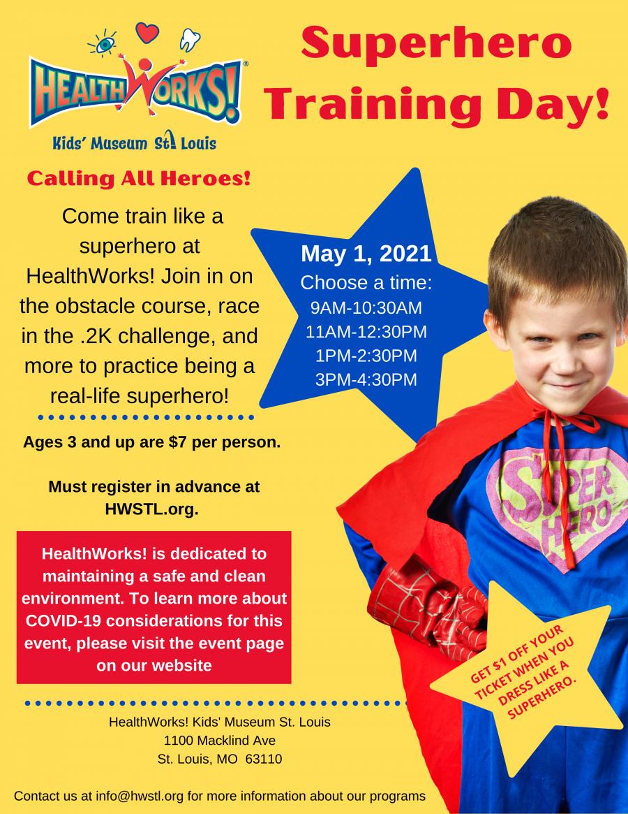 Superhero Training Day
